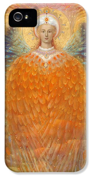 The Angel Of Justice IPhone 5 / 5s Case by Annael Anelia Pavlova