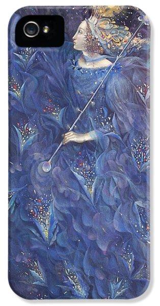 The Angel Of Power IPhone 5 Case by Annael Anelia Pavlova