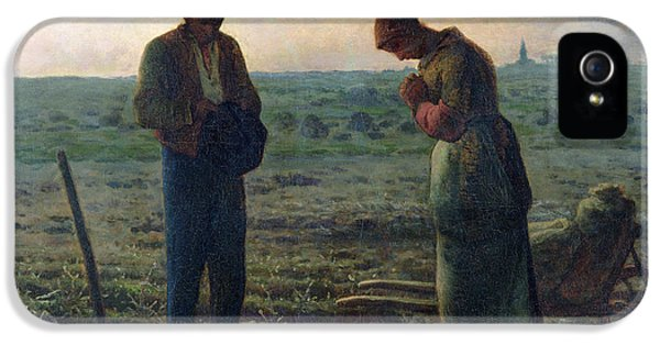 The Angelus IPhone 5 / 5s Case by Jean-Francois Millet