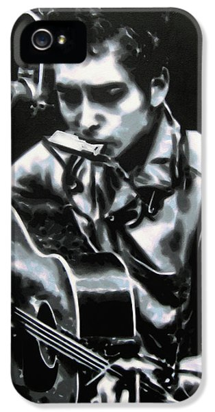 The Answer My Friend Is Blowin In The Wind IPhone 5 Case by Luis Ludzska