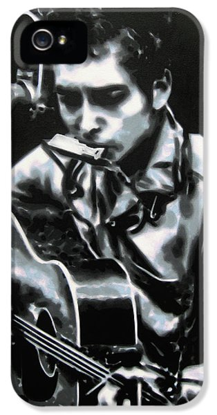 The Answer My Friend Is Blowin In The Wind IPhone 5 / 5s Case by Luis Ludzska