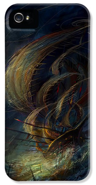 The Apparation IPhone 5 Case by Philip Straub