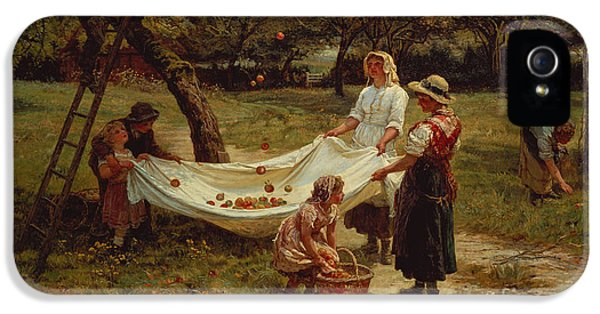 The Apple Gatherers IPhone 5 Case by Frederick Morgan