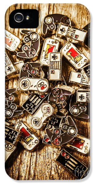 The Art Of Antique Games IPhone 5 Case