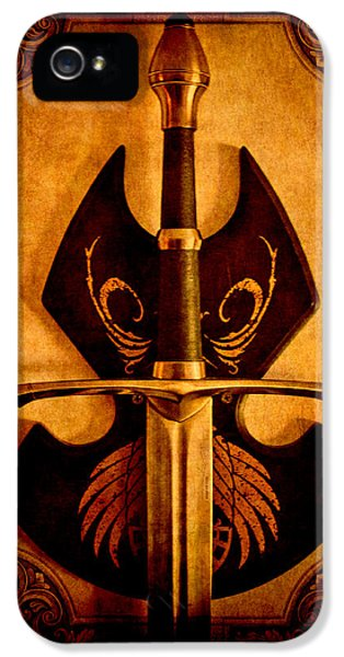 The Art Of War - Eternal Portrait Of A Warrior IPhone 5 Case