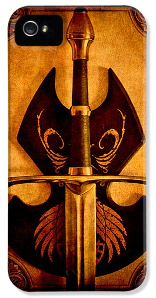 Fabrication iPhone 5 Cases - The Art of War - Eternal Portrait of a Warrior iPhone 5 Case by Loriental Photography