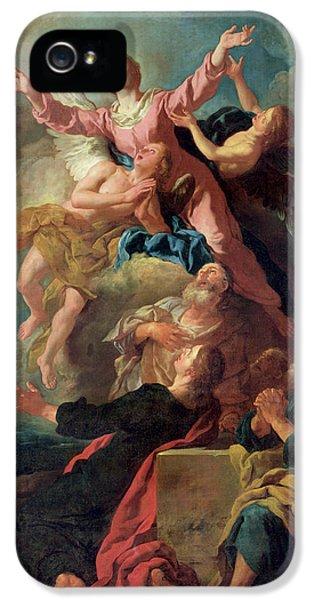 The Assumption Of The Virgin IPhone 5 Case by Jean Francois de Troy