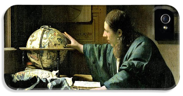The Astronomer IPhone 5 Case by Jan Vermeer