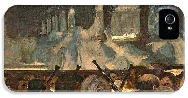 The Ballet Scene From Meyerbeer's Opera Robert Le Diable IPhone 5 Case by Edgar Degas