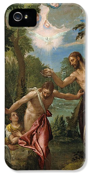 The Baptism Of Christ IPhone 5 Case by Celestial Images