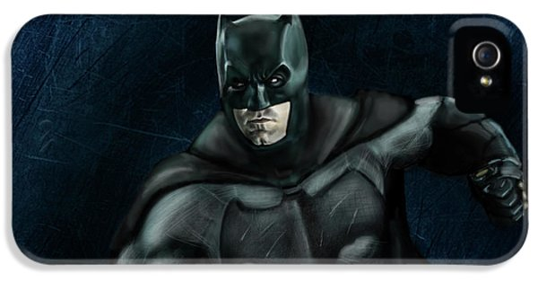 The Batman IPhone 5 Case by Vinny John Usuriello