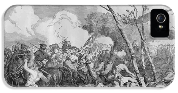 Bull iPhone 5 Case - The Battle Of Bull Run by War Is Hell Store
