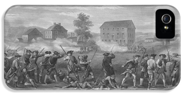 July 4th iPhone 5 Cases - The Battle of Lexington iPhone 5 Case by War Is Hell Store