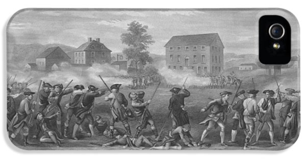 The Battle Of Lexington IPhone 5 Case by War Is Hell Store