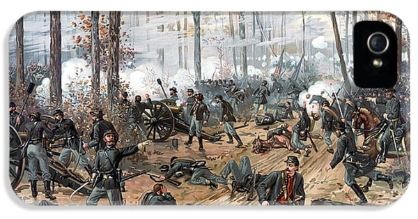 The Battle Of Shiloh IPhone 5 Case