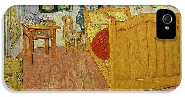 The Bedroom IPhone 5 Case by Vincent van Gogh