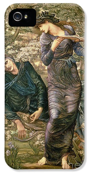 Wizard iPhone 5 Case - The Beguiling Of Merlin by Sir Edward Burne-Jones