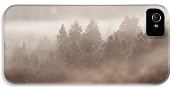 The Blow Of The Forest IPhone 5 Case by Yuri Santin