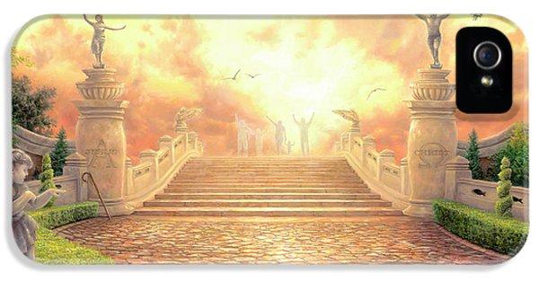 Cross iPhone 5 Case - The Bridge Of Triumph by Chuck Pinson