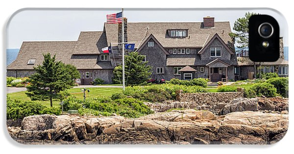 The Bush Compound Kennebunkport Maine IPhone 5 / 5s Case by Brian MacLean