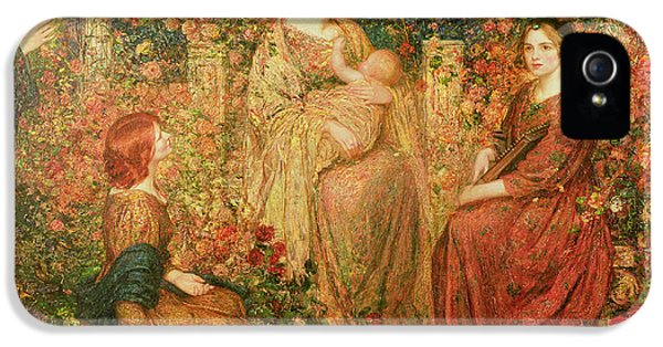 The Child IPhone 5 Case by Thomas Edwin Mostyn