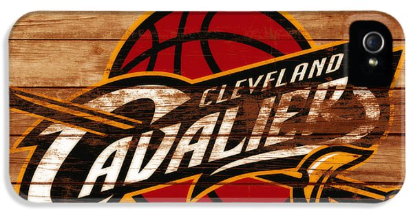 The Cleveland Cavaliers 3a      IPhone 5 Case by Brian Reaves