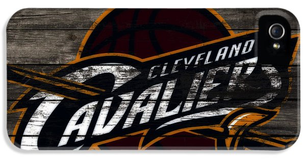 The Cleveland Cavaliers 3b      IPhone 5 Case by Brian Reaves