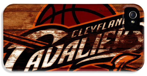 The Cleveland Cavaliers 3e      IPhone 5 Case by Brian Reaves