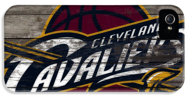 The Cleveland Cavaliers 3f      IPhone 5 Case by Brian Reaves
