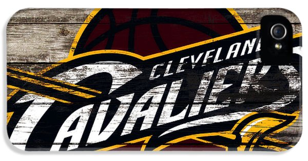 The Cleveland Cavaliers 3h      IPhone 5 Case by Brian Reaves