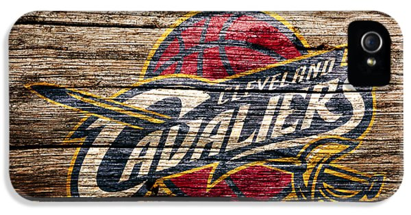 The Cleveland Cavaliers 4a IPhone 5 Case by Brian Reaves