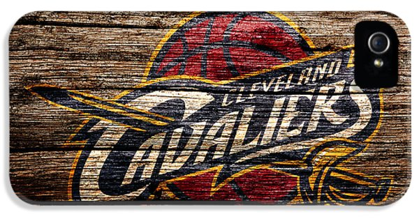The Cleveland Cavaliers 4b IPhone 5 Case by Brian Reaves