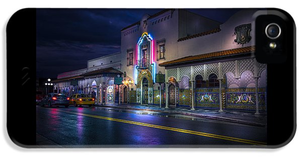 The Columbia Of Ybor IPhone 5 Case by Marvin Spates
