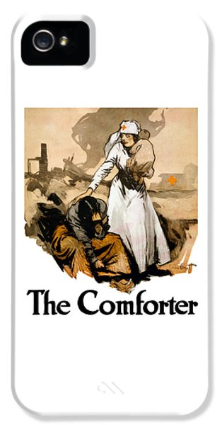 The Comforter - World War One Nurse IPhone 5 Case by War Is Hell Store