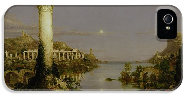 The Course Of Empire - Desolation IPhone 5 / 5s Case by Thomas Cole