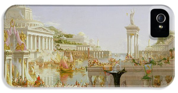 The Course Of Empire - The Consummation Of The Empire IPhone 5 Case by Thomas Cole