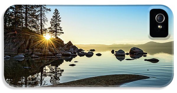The Cove At Sand Harbor IPhone 5 Case