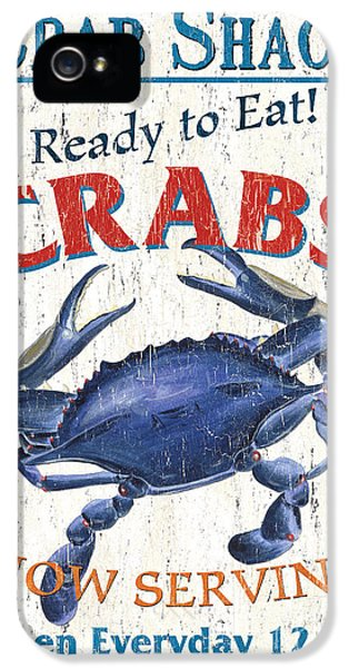 The Crab Shack IPhone 5 Case by Debbie DeWitt
