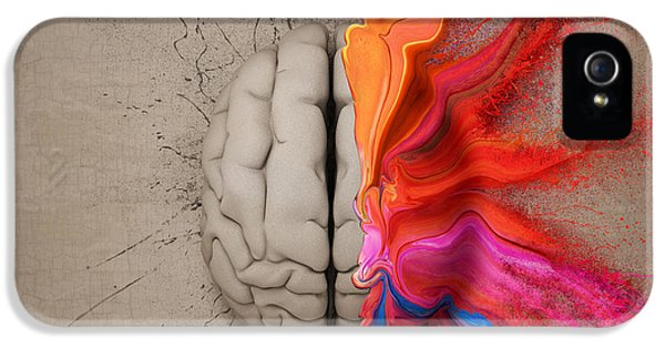 The Creative Brain IPhone 5 Case by Johan Swanepoel