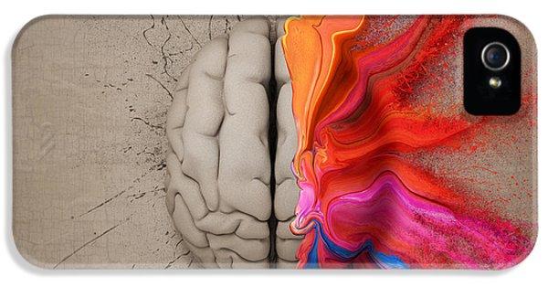 The Creative Brain IPhone 5 / 5s Case by Johan Swanepoel