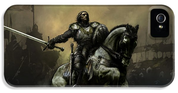 Knight iPhone 5 Case - The Defiant by David Willicome