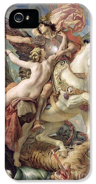 Pegasus iPhone 5 Case - The Deliverance by Joseph Paul Blanc