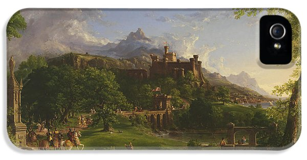 The Departure IPhone 5 Case by Thomas Cole
