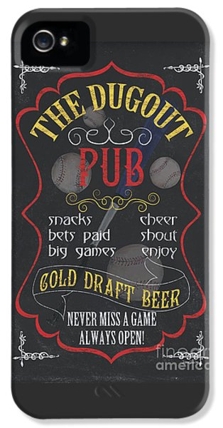 The Dugout Pub IPhone 5 Case