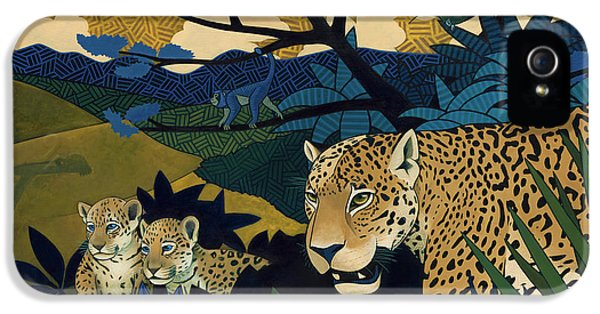 The Edge Of Paradise IPhone 5 Case by Nathan Miller