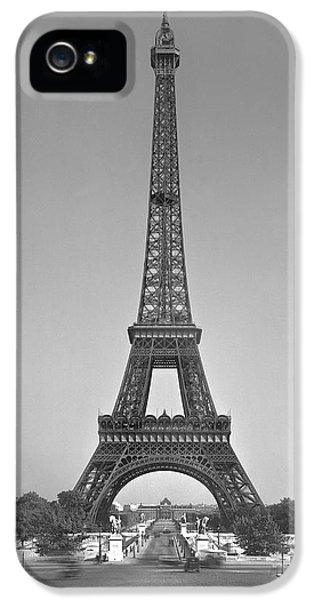 The Eiffel Tower IPhone 5 Case by Gustave Eiffel