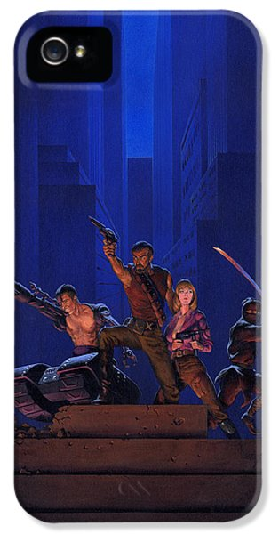Knight iPhone 5 Case - The Eliminators by Richard Hescox