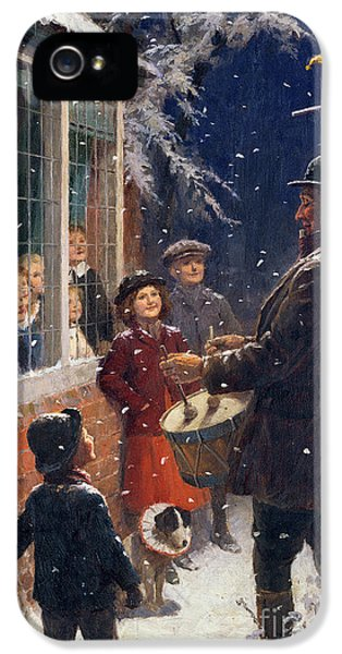 Drum iPhone 5 Case - The Entertainer  by Percy Tarrant