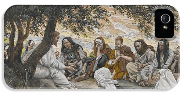 The Exhortation To The Apostles IPhone 5 Case by Tissot