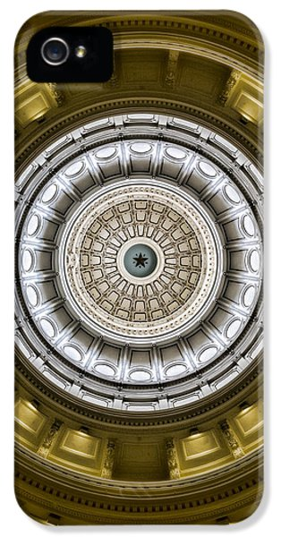 The Eye Of Texas Is Upon You IPhone 5 Case by Stephen Stookey
